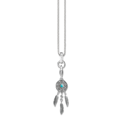 """Charm necklace """"ethno dreamcatcher"""" from the  collection in the THOMAS SABO online store"""