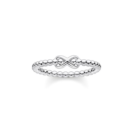 Ring dots with infinity silver from the Charming Collection collection in the THOMAS SABO online store