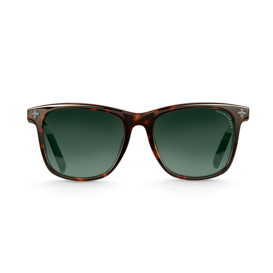 Sunglasses Marlon square cross havana from the  collection in the THOMAS SABO online store