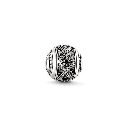Bead Love Knot noir de la collection Karma Beads dans la boutique en ligne de THOMAS SABO