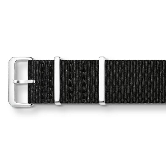 Uhrenarmband CODE TS Nato schwarz aus der  Kollektion im Online Shop von THOMAS SABO