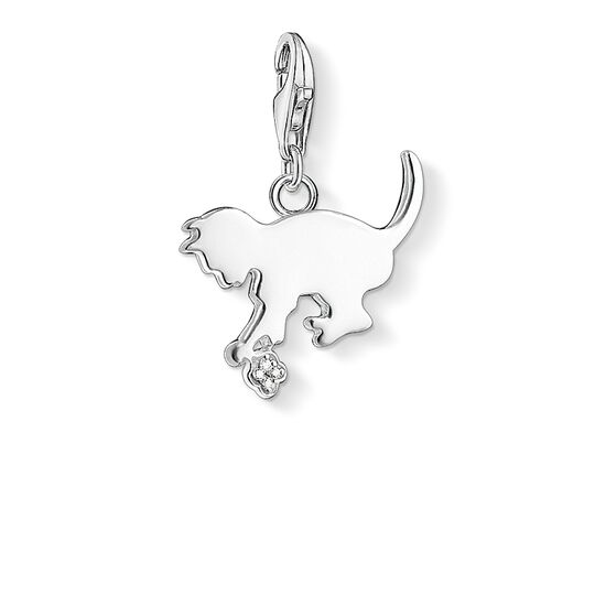 Charm pendant kitten from the  collection in the THOMAS SABO online store