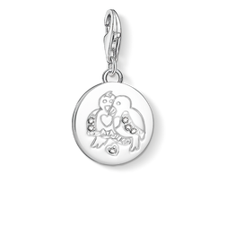 "ciondolo Charm ""Tortorelle"" from the  collection in the THOMAS SABO online store"