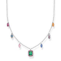cadena Símbolos de la buena suerte multicolor plata de la colección Glam & Soul en la tienda online de THOMAS SABO