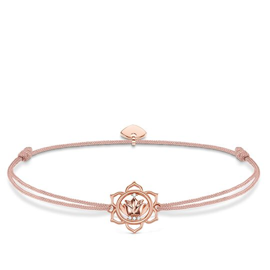 "bracelet ""Little Secret lotus flower"" from the Glam & Soul collection in the THOMAS SABO online store"