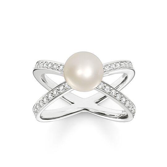ring pearls from the Glam & Soul collection in the THOMAS SABO online store