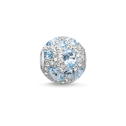 Bead blue sky from the Karma Beads collection in the THOMAS SABO online store