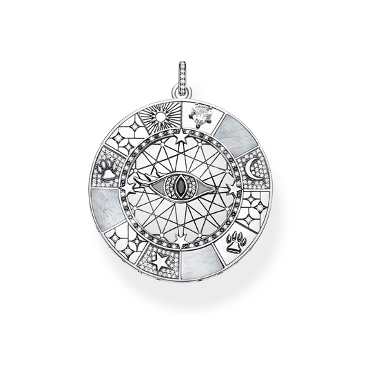 pendant Amulet mystical symbols from the Glam & Soul collection in the THOMAS SABO online store