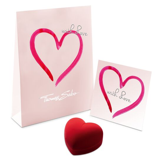 Heart gift set from the  collection in the THOMAS SABO online store