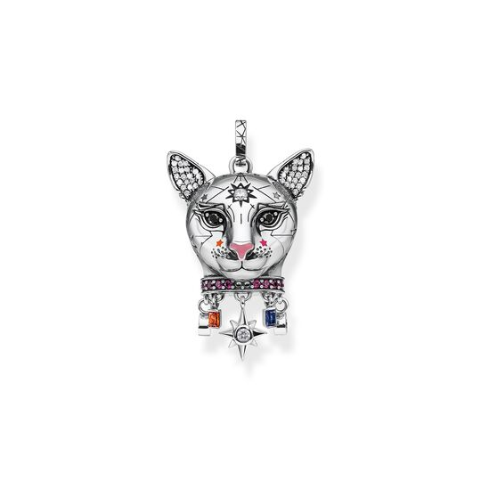pendant Cat silver from the  collection in the THOMAS SABO online store