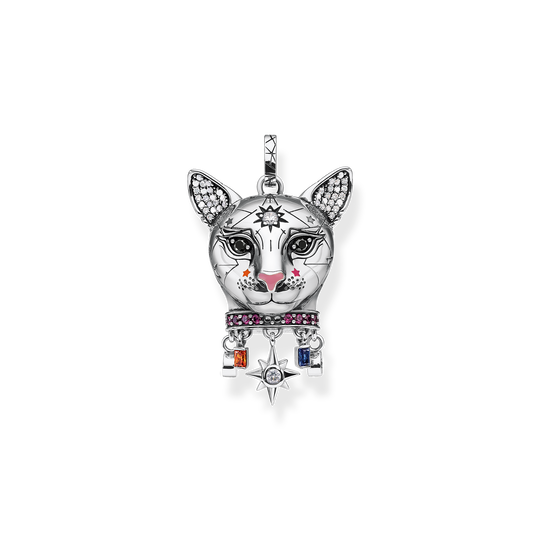 pendant Cat silver from the Glam & Soul collection in the THOMAS SABO online store