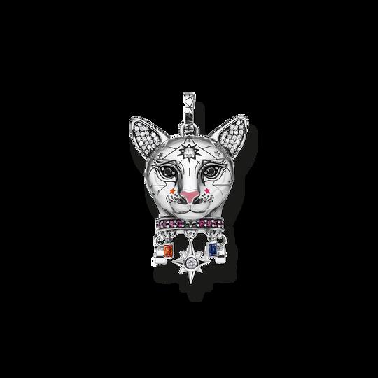 Anhänger Katze silber aus der Glam & Soul Kollektion im Online Shop von THOMAS SABO