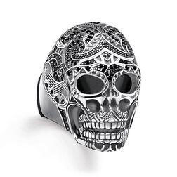 anillo Calavera maorí de la colección Rebel at heart en la tienda online de THOMAS SABO