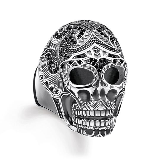 ring maori skull from the Rebel at heart collection in the THOMAS SABO online store