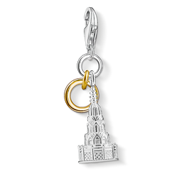 "Charm pendant ""fountain, Nuremberg"" from the  collection in the THOMAS SABO online store"