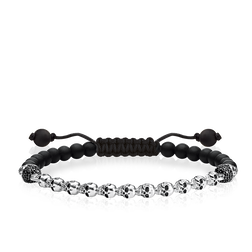 "bracelet ""skulls"" from the Love Bridge collection in the THOMAS SABO online store"