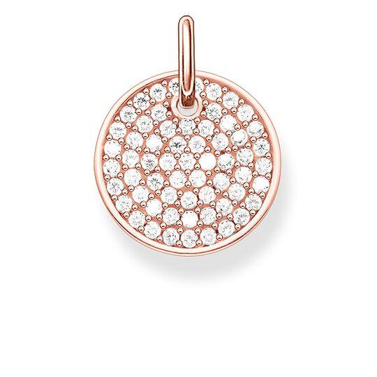 """Anhänger """"Sparkling Circles Coin"""" aus der Love Bridge Kollektion im Online Shop von THOMAS SABO"""