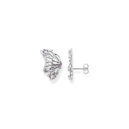 Ear studs butterfly silver from the Glam & Soul collection in the THOMAS SABO online store