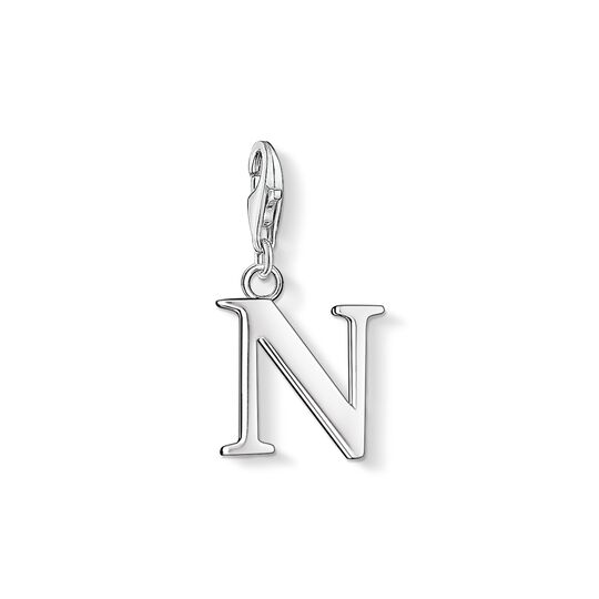 Charm pendant letter N from the Charm Club collection in the THOMAS SABO online store
