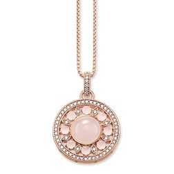 "necklace ""pink ornament"" from the Glam & Soul collection in the THOMAS SABO online store"