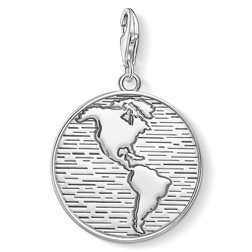 Charm pendant disc world from the  collection in the THOMAS SABO online store