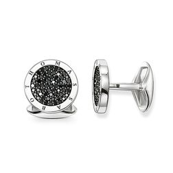 "gemelli da polso ""pavé di diamanti"" from the Rebel at heart collection in the THOMAS SABO online store"