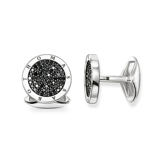 cufflinks Diamond pavé from the Rebel at heart collection in the THOMAS SABO online store