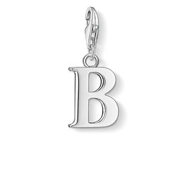 Charm pendant letter B from the Charm Club Collection collection in the THOMAS SABO online store