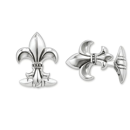 "cufflinks ""fleur-de-lis"" from the Rebel at heart collection in the THOMAS SABO online store"