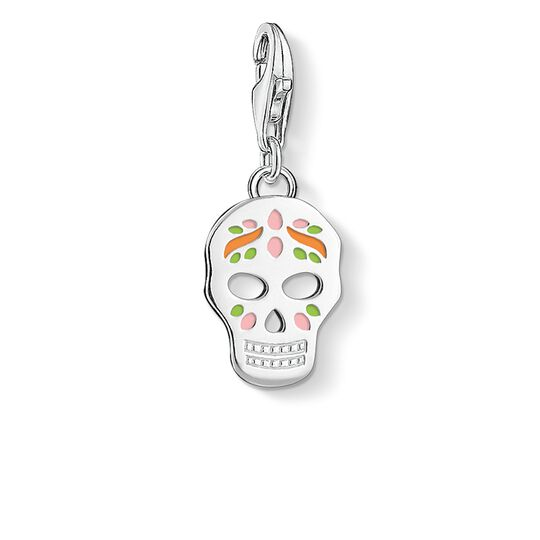 Charm pendant Mexican skull from the  collection in the THOMAS SABO online store