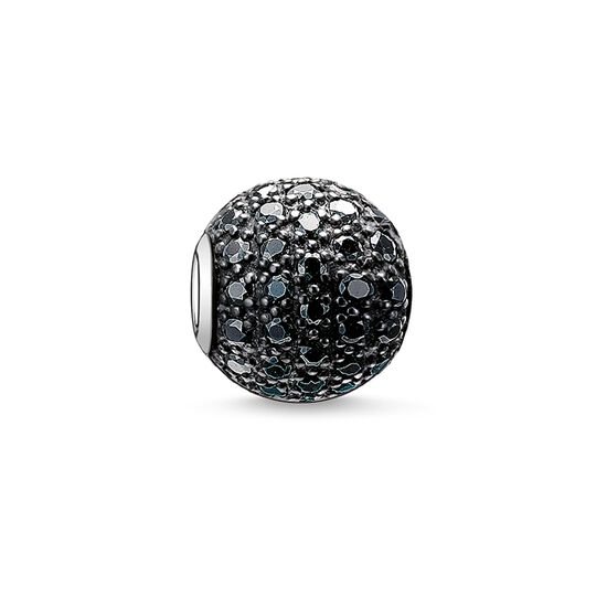 "Bead ""black pavé"" from the Karma Beads collection in the THOMAS SABO online store"