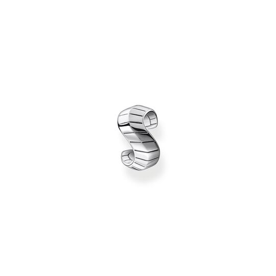 Single ear cuff snakeskin silver from the  collection in the THOMAS SABO online store