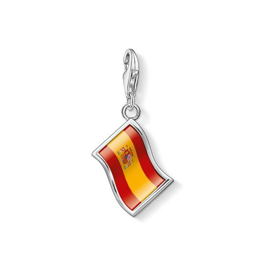 Charm pendant flag Spain from the Charm Club collection in the THOMAS SABO online store