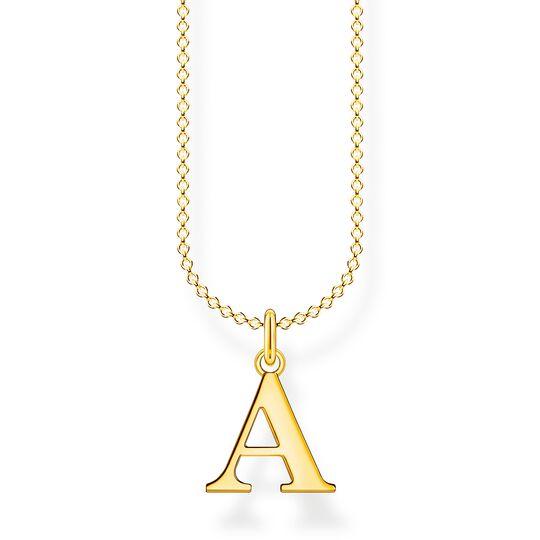 Kette Buchstabe A gold aus der Charming Collection Kollektion im Online Shop von THOMAS SABO