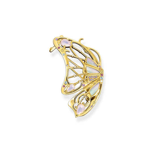 Single earring butterfly gold from the  collection in the THOMAS SABO online store