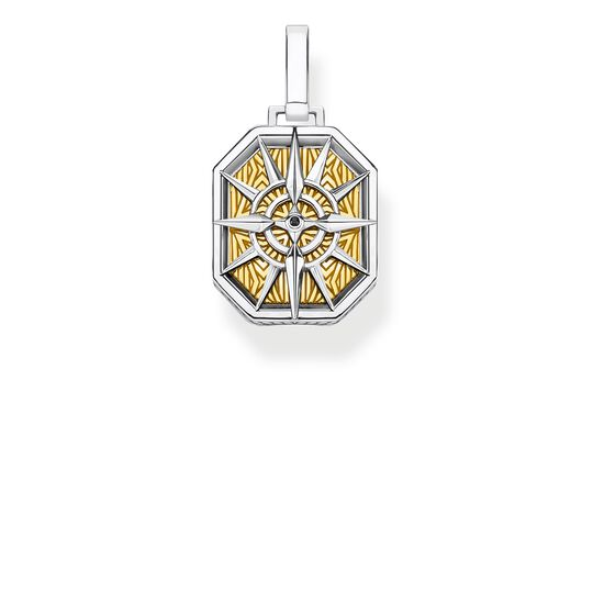 pendant compass gold from the Rebel at heart collection in the THOMAS SABO online store