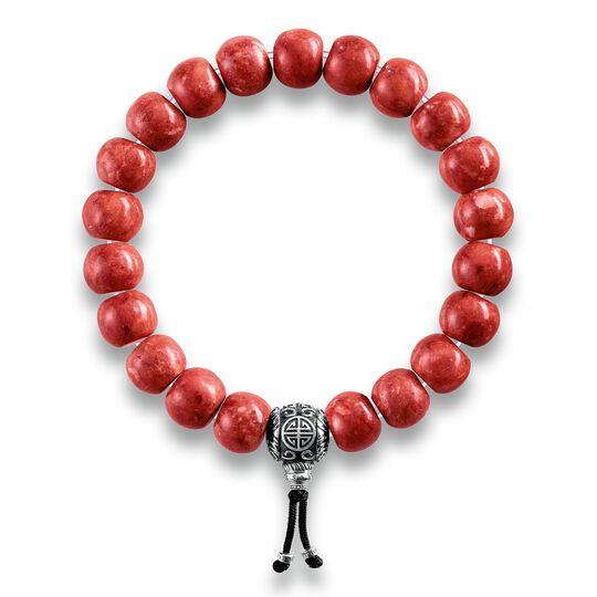 """bracelet """"Power Bracelet ethnique rouge"""" de la collection Rebel at heart dans la boutique en ligne de THOMAS SABO"""
