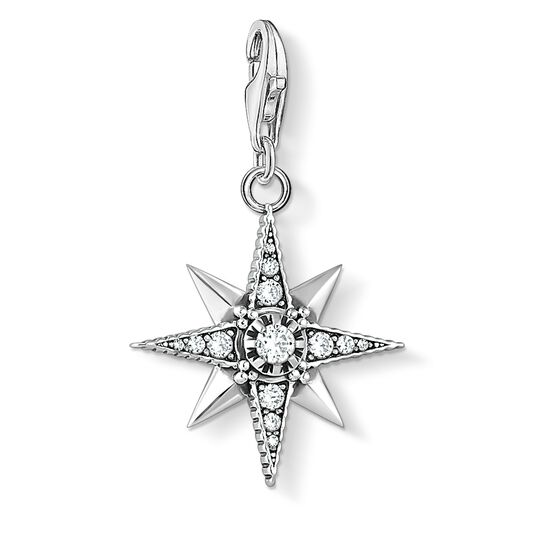 Charm pendant Royalty Star from the  collection in the THOMAS SABO online store
