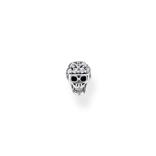 Single ear stud skull from the Charming Collection collection in the THOMAS SABO online store
