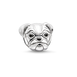 """Bead """"pug"""" from the Karma Beads collection in the THOMAS SABO online store"""