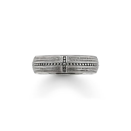 band ring cross from the  collection in the THOMAS SABO online store