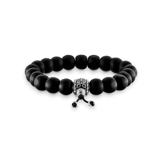 power bracelet ethnic black from the  collection in the THOMAS SABO online store