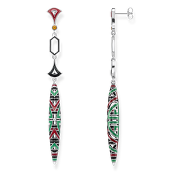 earrings asian ornaments from the Glam & Soul collection in the THOMAS SABO online store