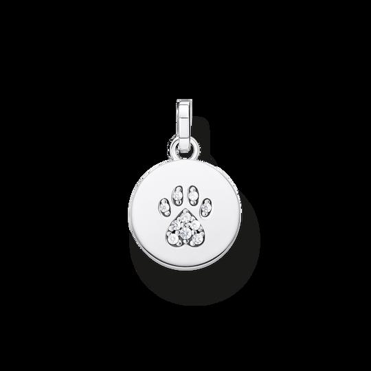 Anhänger Coin Pfote Katze silber aus der Glam & Soul Kollektion im Online Shop von THOMAS SABO