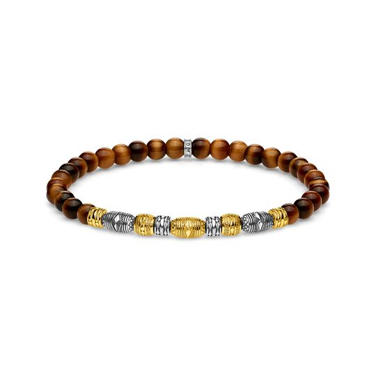 bracelet Two-tone lucky charm, gold from the  collection in the THOMAS SABO online store