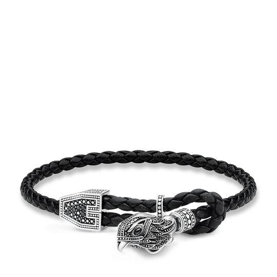 bracelet cuir faucon de la collection Rebel at heart dans la boutique en ligne de THOMAS SABO