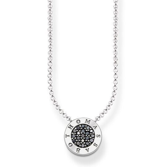 """necklace """"black Classic pavé"""" from the Glam & Soul collection in the THOMAS SABO online store"""