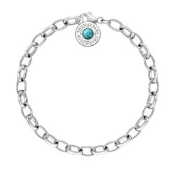 "Charm bracelet ""turquoise"" from the  collection in the THOMAS SABO online store"