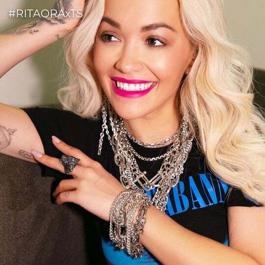 RITA ORA Look Black Cat from the  collection in the THOMAS SABO online store