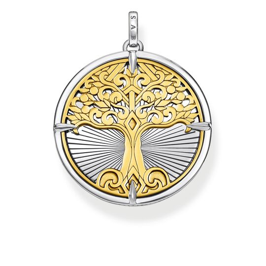 pendant Tree of Love gold from the Rebel at heart collection in the THOMAS SABO online store
